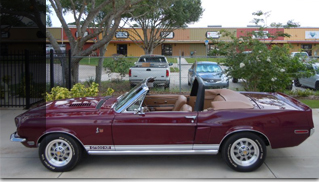 1968 Shelby GT500 KR Convertible - The rarest GT500KR for sale - Muscle Cars Blog