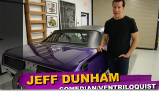 Jeff Dunham: SEMA Project Ultraviolet - Challenger SRT - EP.1 - Muscle Cars Blog