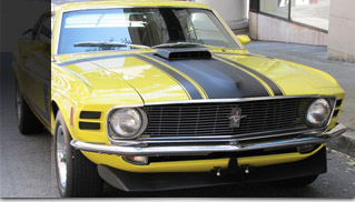 1970 Ford Mustang Boss 302 Competition Yellow - Muscle Cars Blog