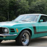 1970 Ford Mustang BOSS 302 with Marti report