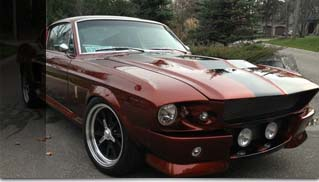 1967 Mustang Fastback Eleanor Shelby - Muscle Cars Blog