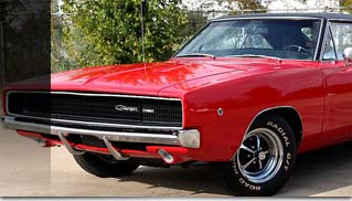 1968 Dodge Charger 440 - Muscle Cars Blog