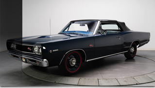 1968 Dodge Coronet R/T Convertible 426 HEMI V8  - Muscle Cars Blog