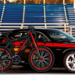 Muscle cars and e-bikes