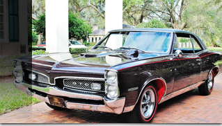 1967 Pontiac GTO Tri-power - Muscle Cars Blog