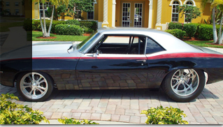 1969 Chevrolet Camaro PRO-Touring 617 Horsepower Merlin Engine - Muscle Cars Blog