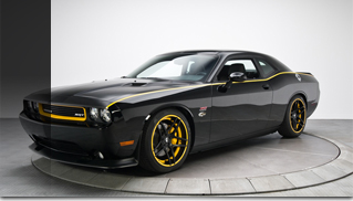 2011 Dodge Penske Racing Challenger SRT-8 - 1 of 1! - Muscle Cars Blog