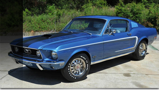 1968 Ford Mustang GT Fastback R Code 428 Cobra Jet - Muscle Cars Blog