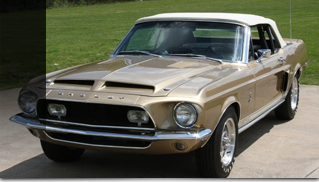 1968 Ford Mustang Shelby GT500 Convertible - Not a car to pass on - Muscle Cars Blog