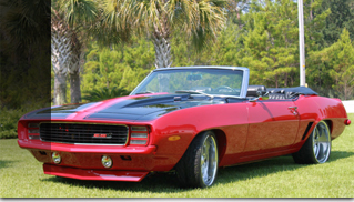 1969 Chevrolet Camaro HR 1 Convertible - Muscle Cars Blog