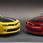 Chevrolet Performance Camaro V-6 and V-8 Concept