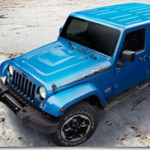 Jeep Shows Exclusive Wrangler Unlimited Polar Edition