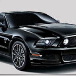 2014 Ford Mustang V8 GT Coupe The Black Built Exclusively For Japan