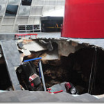Sinkhole Opens Up At National Corvette Museum. Eight Cars Have Been Swallowed