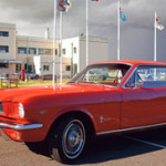1964 Ford Mustang 1/2 Coupe Prepared For Silverstone Auctions