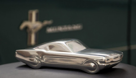 Limited-Edition-50-Years-Mustang-Sculpture-01