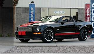 Barrett-Jackson Edition Shelby GT Front