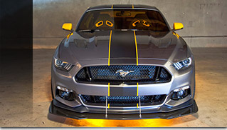 2015 Ford Mustang F-35 Lightning II Edition Front