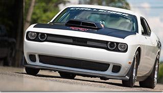 Dodge Challenger Mopar Drag Pak Front Angle