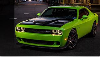 2015 Dodge Challenger SRT HEMI Hellcat Front Angle