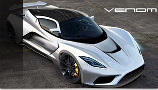 2015 Hennessey Venom F5 Front Angle