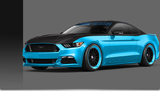 2015 Pettys Garage Ford Mustang Front Angle