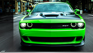 2015 Dodge Challenger SRT Hellcat Performance Front Angle