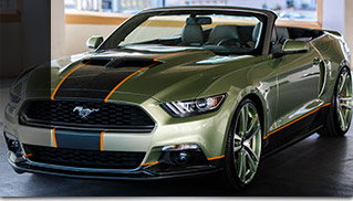 2015 Ford Mustang Chip Foose Front