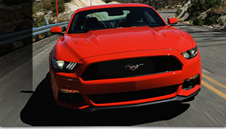 2015 Ford Mustang GT Front Angle