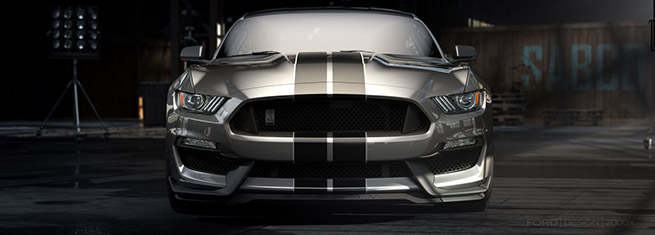 2016 Ford Mustang Shelby GT350 Front