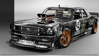 Hoonicorn RTR Ford Mustang Front Angle