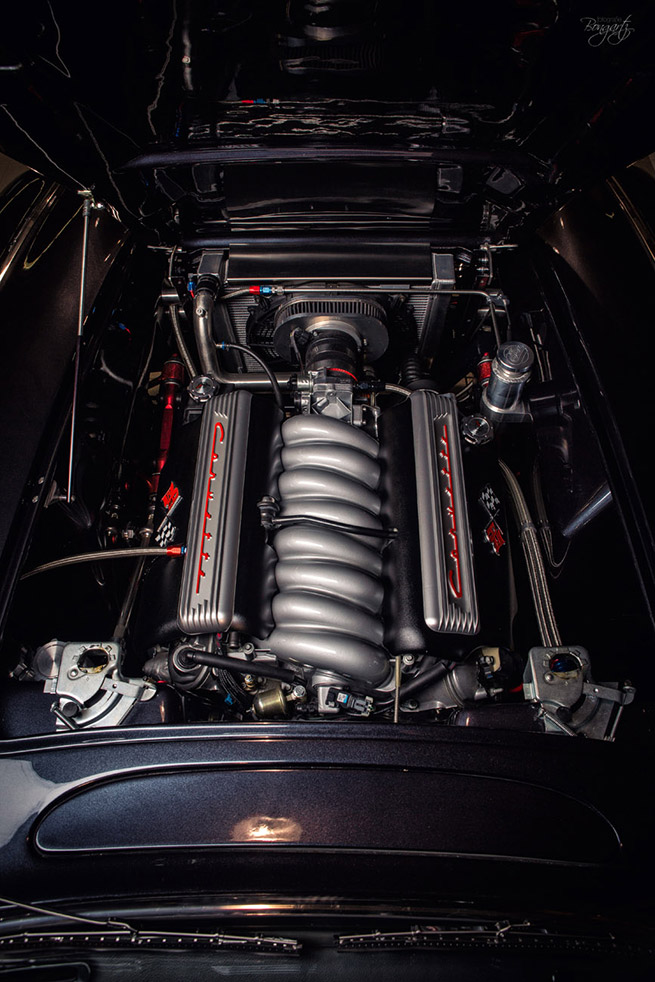 Wheelsandmore 1961 Chevrolet Corvette C1 Engine