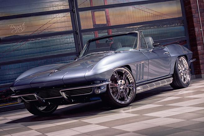 Wheelsandmore 1965 Chevrolet Corvette C2 Front Angle