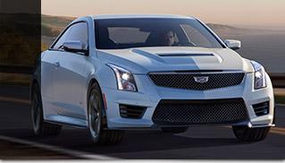2016 Cadillac ATS-V Coupe Front