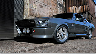 1967 Ford Mustang Eleanor Front Angle