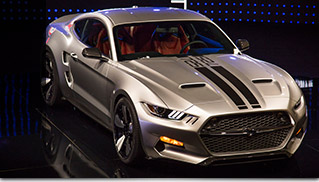 2015 GAS Ford Mustang Rocket 725hp Front Angle