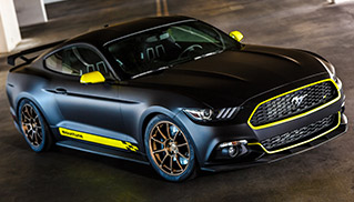 2014 Mountune Ford Mustang Front Angle
