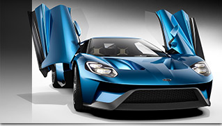 2017 Ford GT Front Angle