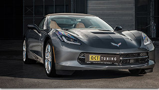 2015 O.CT Tuning Chevrolet Corvette Stingray C7 Front
