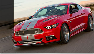 2015 Shelby GT Front Angle