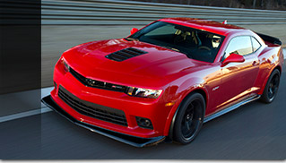 2015 Chevrolet Camaro Z28 Front Angle