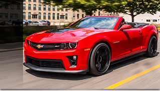 2015 Chevrolet Camaro ZL1 Convertible Front Angle