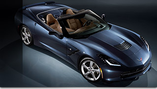 2015 Chevrolet Corvette Stingray Convertible Front Angle