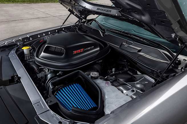 2015 Dodge Challenger 392 HEMI Scat Pack Shaker Engine