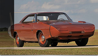 1969 Dodge Hemi Daytona Front Angle