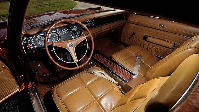 1969 Dodge Hemi Daytona Interior