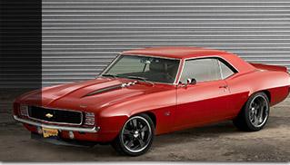 1969 Reggie Jackson Chevrolet Camaro Front Angle