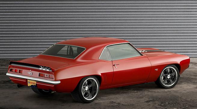 1969 Reggie Jackson Chevrolet Camaro Rear Angle
