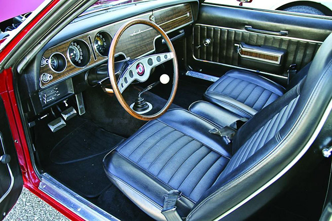 1970 AMC Javelin Trans Interior