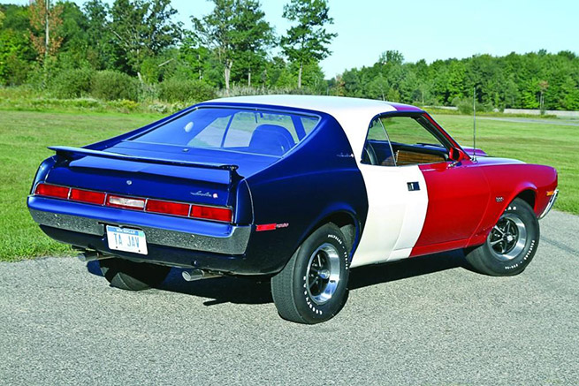 1970 AMC Javelin Trans Rear Angle